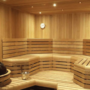 Custom -cut Saunas
