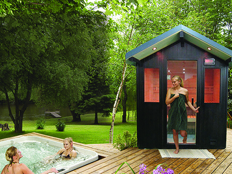 Outdoor Sauna Metro